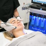hydrafacial md treatment at infinity clinic with female patient