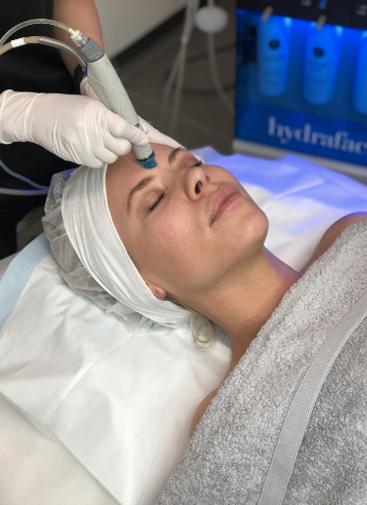 hydrafacial treatment at infinity skin clinic - rowi
